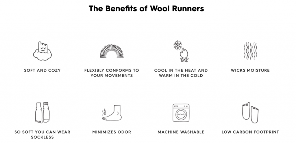 benefits of wool runners